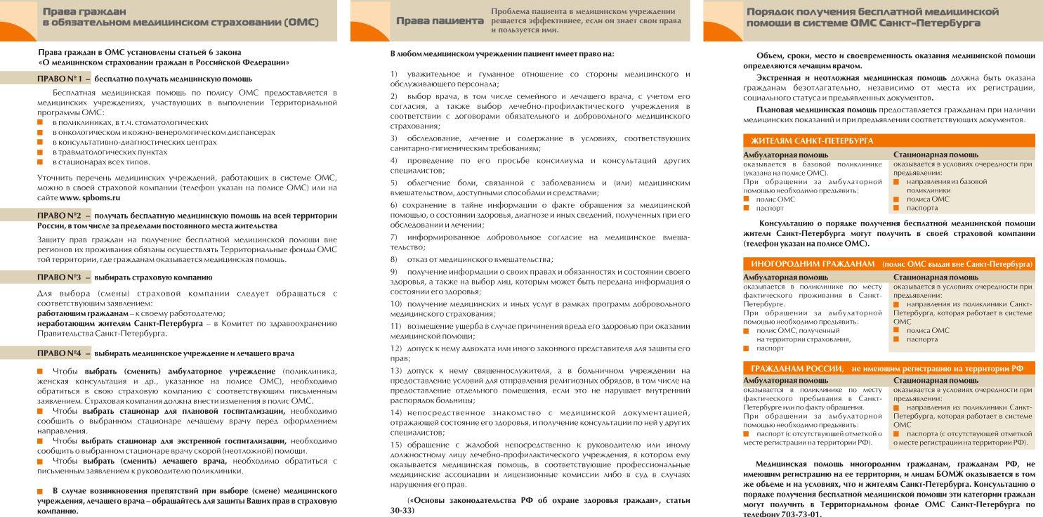 Фотокаталог ОМС петербургским семьям справочный портал ЕИС ОМС